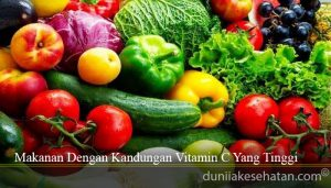 Makanan Dengan Kandungan Vitamin C Yang Tinggi