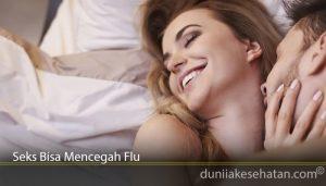 Seks Bisa Mencegah Flu
